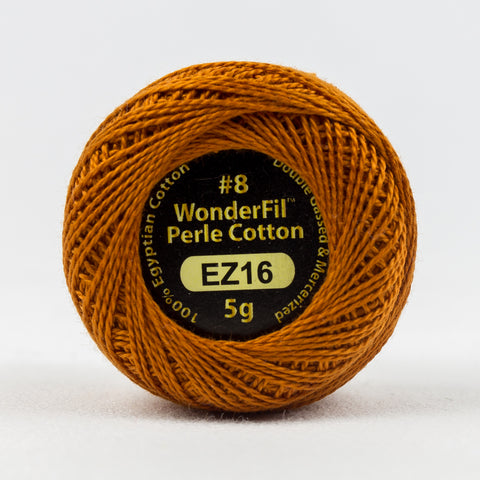 Wonderfil Eleganza Perle Cotton 8wt. - Exotic Spice 16