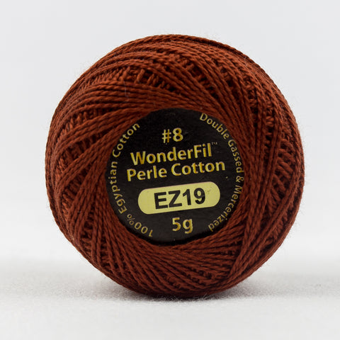 Wonderfil Eleganza Perle Cotton 8wt. - Autumn Leaf 16