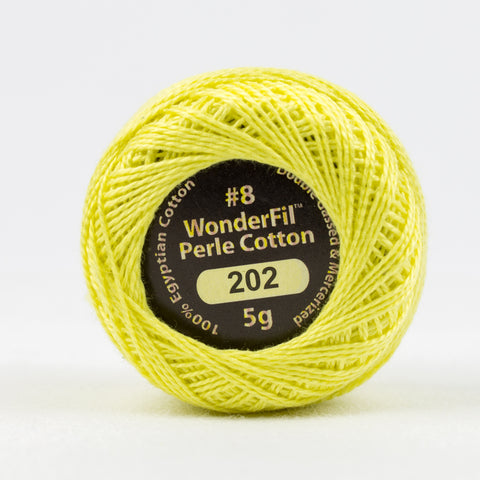 Wonderfil Eleganza Perle Cotton 8wt. - Winter Sun 202