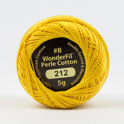 Wonderfil Eleganza Perle Cotton 8wt. - Honey Cake 212