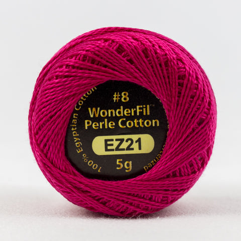 Wonderfil Eleganza Perle Cotton 8wt. - Crown Jewel 21