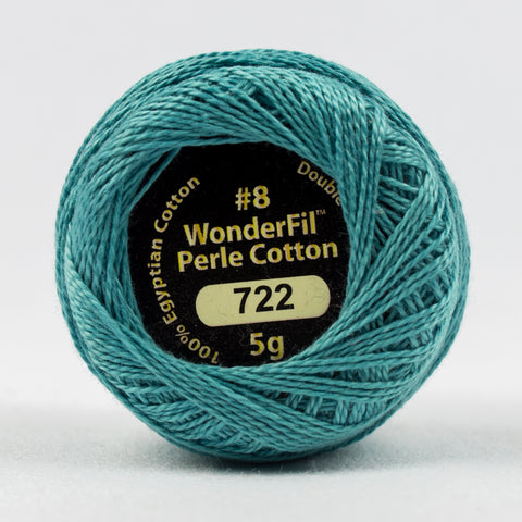 Wonderfil Eleganza Perle Cotton 8wt. - River Stone 722