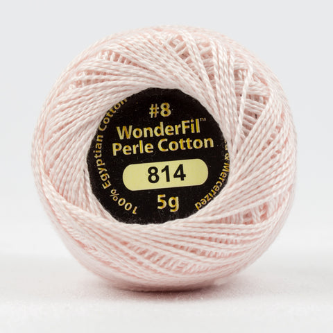Wonderfil Eleganza Perle Cotton 8wt. - High Tea 814