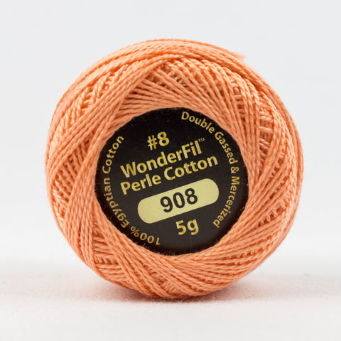 Wonderfil Eleganza Perle Cotton 8wt. - Grapefruit 908