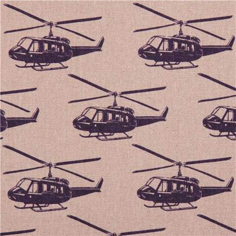 Echino - Helicopter fabric on sale in Canada
