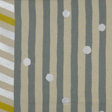 Echino - Bordered Stripe Gray