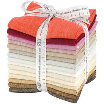 Designer Bundle - Manchester Warm Colour Story 14 pieces in Fat Quarters