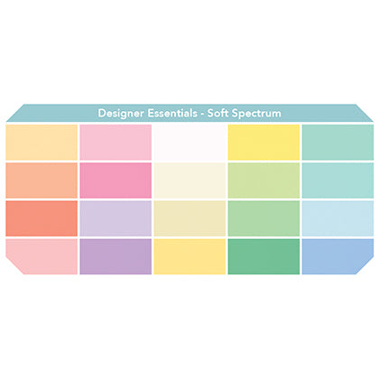 "Designer Solids 10"" Charm Pack - Soft Spectrum"