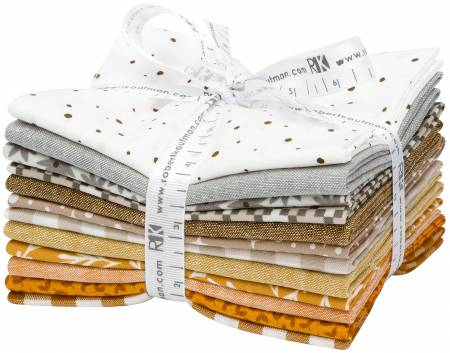 Designer Bundle - Neutral  Palette by Elizabeth Hartman - 12 Fat Quarters