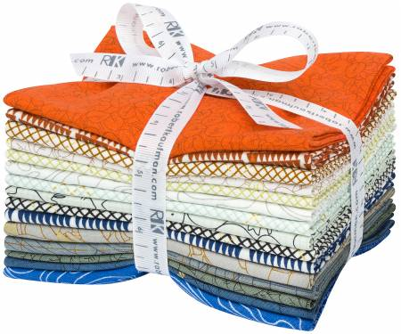 Designer Bundle - Collection CF New Colours by Carolyn Friedlander 15 Fat Quarters