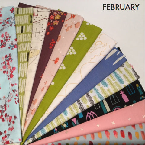 Fat Quarter Bundle - February Monthly Sparks
