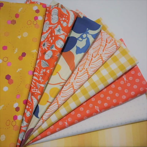 Staff Picks Bundle - 8 Fat Quarters - Sunny
