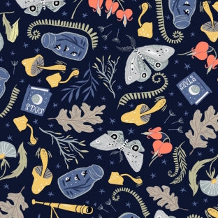 Rae Ritchie Love You To The Moon - Forest Stuff in Navy