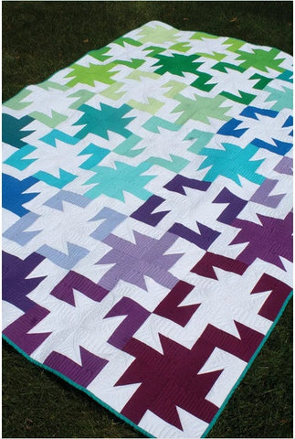 Freshly Pieced Sparkler Quilt