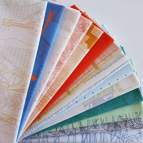 "Designer Bundle - ""Friedlander"" quilting cotton 15 x FQ"
