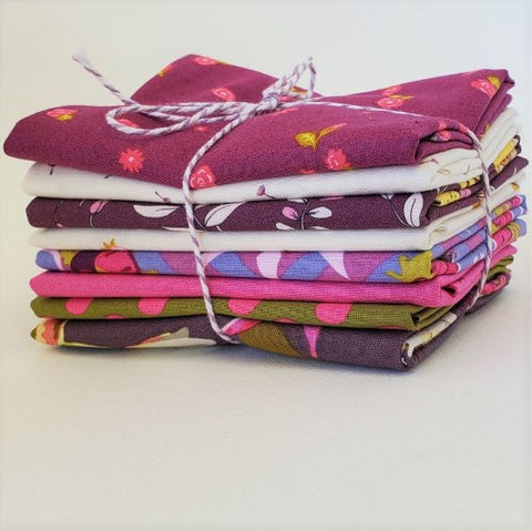 Staff Picks Bundle - 8 Fat Quarters - Gardening Rewards
