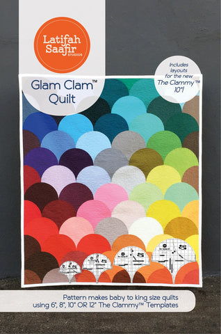 Latifah Saafir - Glam Clam Quilt Pattern