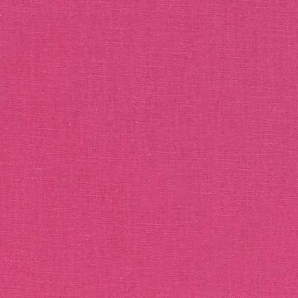 Essex linen/cotton - Hot Pink