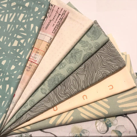 Staff Picks Bundle - 8 Fat Quarters - Icy Cool