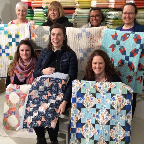 Learn to Quilt - With a Sewing Machine - Wed September 25 for 8 weeks - 6:30 - 9:00 PM