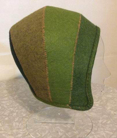 Custom Head Hugger Felt Hat Workshop-Two Parts