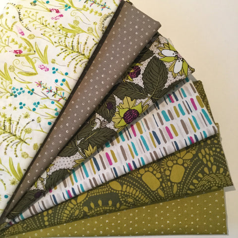Copy of Designer Bundle - Garden Secrets Fabric by Sarah Watson