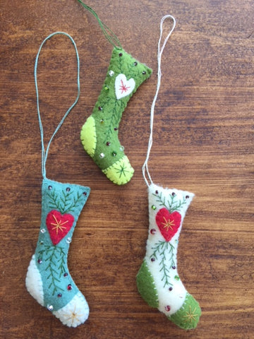 Homemade Holidays - Felt Ornaments Saturday November 4