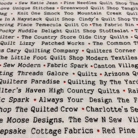 Sweetwater Mama Said Sew Volume II - Novelty Store Names Black