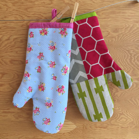 Oven mitt workshop - Wed May 9 - 10:00 - 1:00 PM