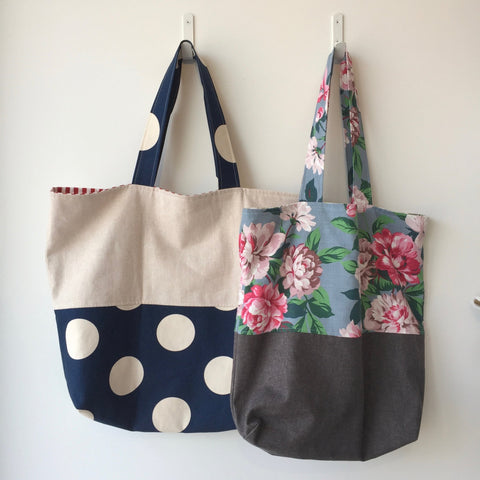 The Viola and Ivy Market Bag Workshop - September 22 10:00AM - 1:00PM