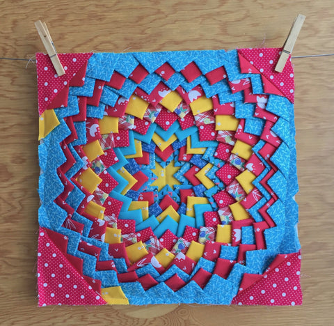 Pine Burr Quilt Block Workshop - Saturday June 8 1:00AM - 4:00PM