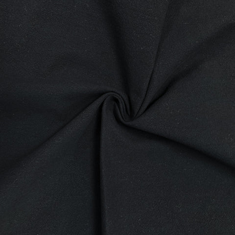 Jubilee Cotton Crepe in Black