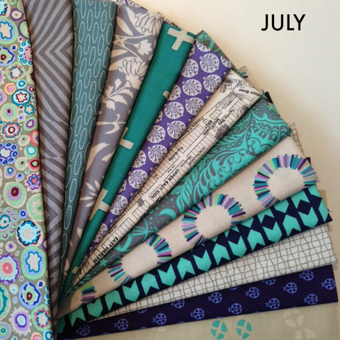 Fat Quarter Bundle - JULY Monthly Daryl's Picks Bundle