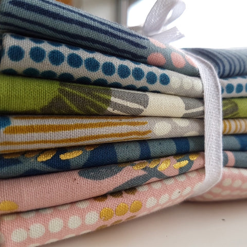 Designer Bundle - Imagined Landscapes by Jen Hewett 7 x Fat Quarters