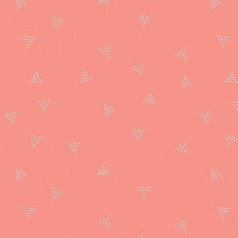 Dear Stella KNIT - Triangle Dot in Coral