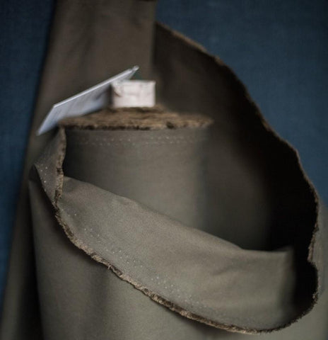 Merchant and Mills - Dry Oilskin in Khaki
