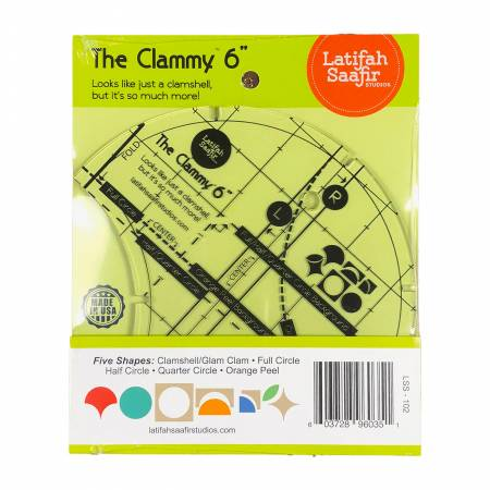 "Latifah Saafir - The Clammy 6"" Acrylic Template"