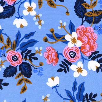 Les Fleurs by Rifle Paper Co - Birch Floral Periwinkle