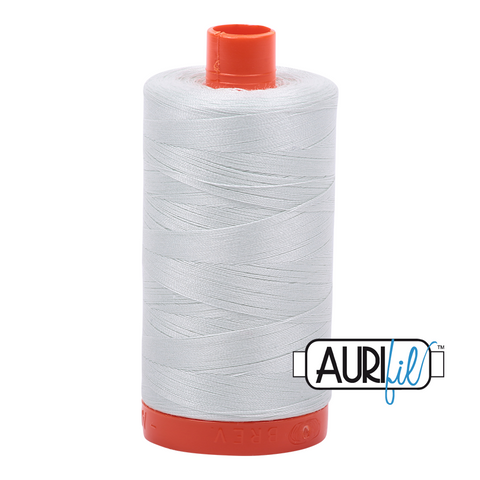 Aurifil Thread - 50wt 100% cotton  - colour 2800 Pale Green
