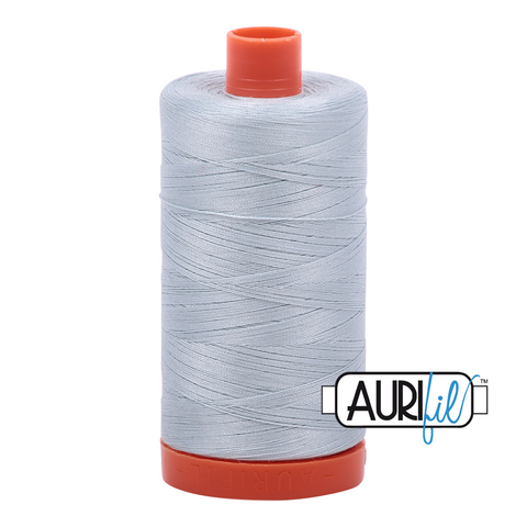 Aurifil Thread - 50wt 100% cotton  - colour 2846 Iceberg
