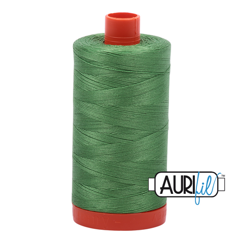 Aurifil Thread - 50wt 100% cotton  - colour 2884 Green Yellow
