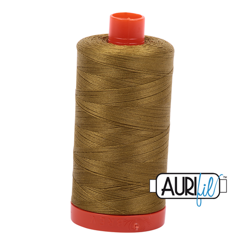 Aurifil Thread - 50wt 100% cotton  - colour 2910 Medium Olive