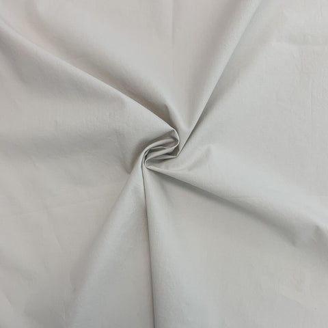 Nova crinkled cotton poplin - Clay