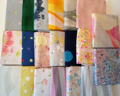 Designer Bundle - Nani Iro Double Gauze collection x 20 half metre