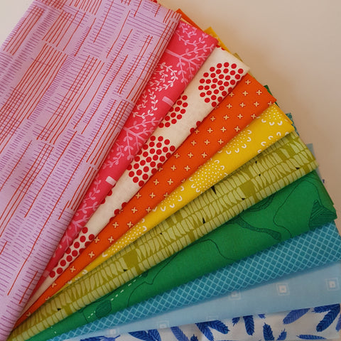 Fat Quarter Bundle - November 2016 Rainbow Bundle
