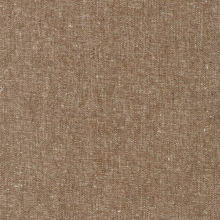 Essex Yarn Dyed linen/cotton - Nutmeg