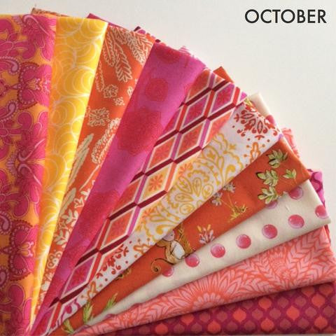 fat quarter bundle - October Best of Free Spirit