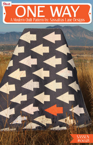 Sassafras Lane - One Way Quilt Pattern
