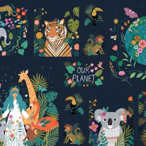 Our Planet by Bethan Janine for Dashwood - Panel