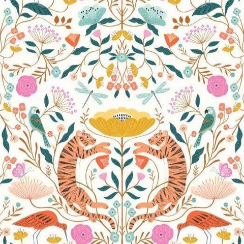 Our Planet by Bethan Janine for Dashwood - Flora and Fauna in White